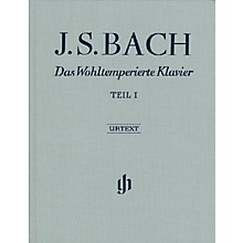 G. Henle Verlag The Well-Tempered Clavier - Revised Edition (Part I, BWV 846-869) Henle Music Folios Series Hardcover