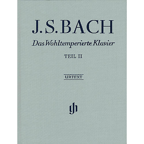 G. Henle Verlag The Well-Tempered Clavier - Revised Edition (Part II, BWV 870-893) Henle Music Folios Series Hardcover