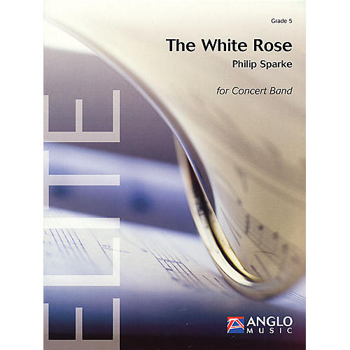 De Haske Music The White Rose    Score And Parts Full Score Concert Band