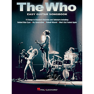 Hal Leonard The Who - Easy Guitar Songbook