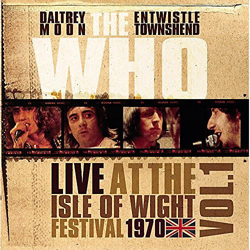 Alliance The Who - Live At The Isle Of Wight Vol 1