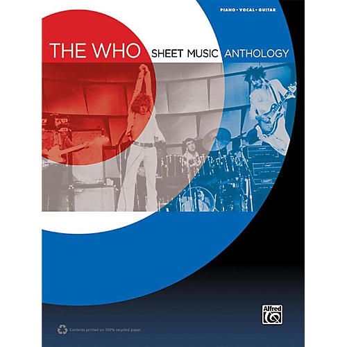 Alfred The Who - Sheet Music Anthology Piano/Vocal/Guitar Book