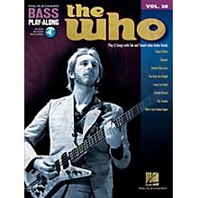 Hal Leonard The Who Bass Play-Along Volume 28 BK/CD