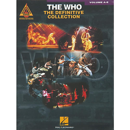 Hal Leonard The Who Complete Pack Guitar Tab Book