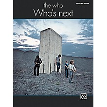 Alfred The Who: Who's Next Guitar TAB Edition Songbook