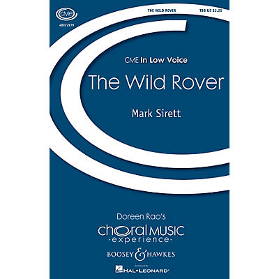 Boosey and Hawkes The Wild Rover (CME In Low Voice) TBB arranged by Mark Sirett