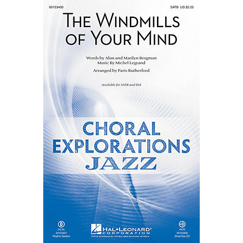 Hal Leonard The Windmills of Your Mind ShowTrax CD Arranged by Paris Rutherford