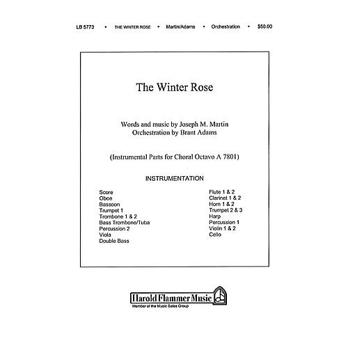 Shawnee Press The Winter Rose Score & Parts composed by Joseph M. Martin
