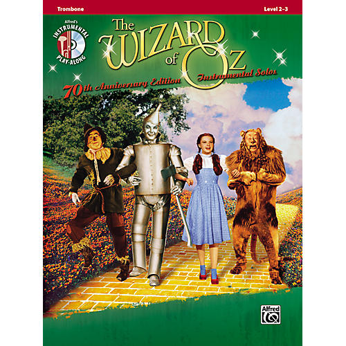 Alfred The Wizard of Oz 70th Anniversary Edition Instrumental Solos: Trombone (Songbook/CD)