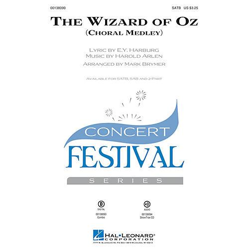 Hal Leonard The Wizard of Oz (Choral Medley) SAB Arranged by Mark Brymer