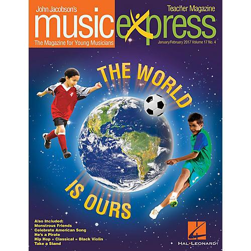 Hal Leonard The World Is Ours Vol. 17 No. 4 PREMIUM PLUS COMPLETE PAK by Aloe Blacc Arranged by Emily Crocker