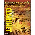 Cherry Lane The World's Most Famous Melodies for Clarinet Book/CD thumbnail