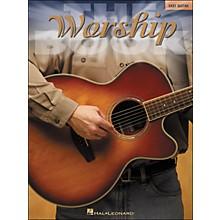 Hal Leonard The Worship Book - Easy Guitar (No Tab)