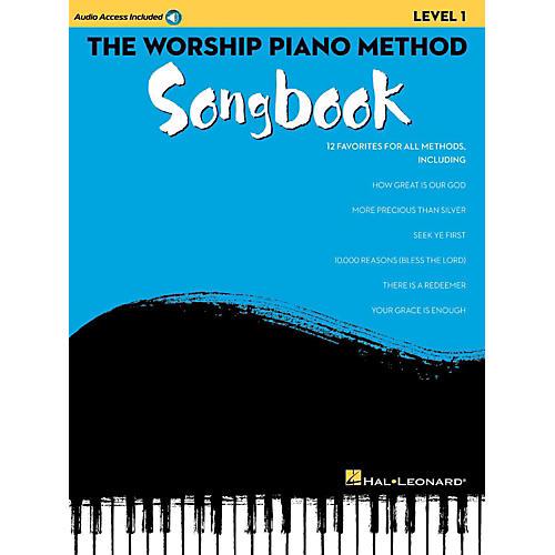 Hal Leonard The Worship Piano Method Songbook - Level 1 Book w/ Audio Online