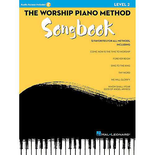 Hal Leonard The Worship Piano Method Songbook - Level 2 Book w/ Audio Online