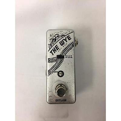 Outlaw Effects The Wye Pedal