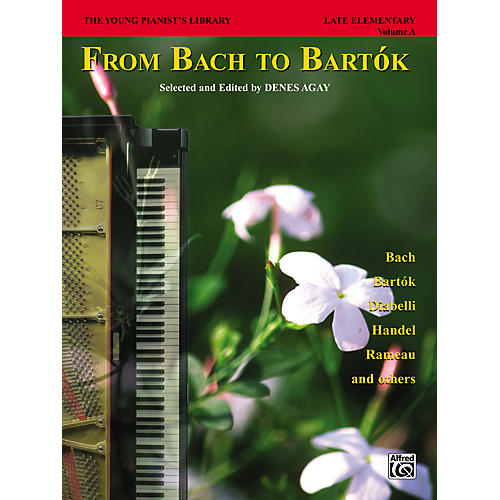 Alfred The Young Pianist's Library From Bach to Bartok Book 1A