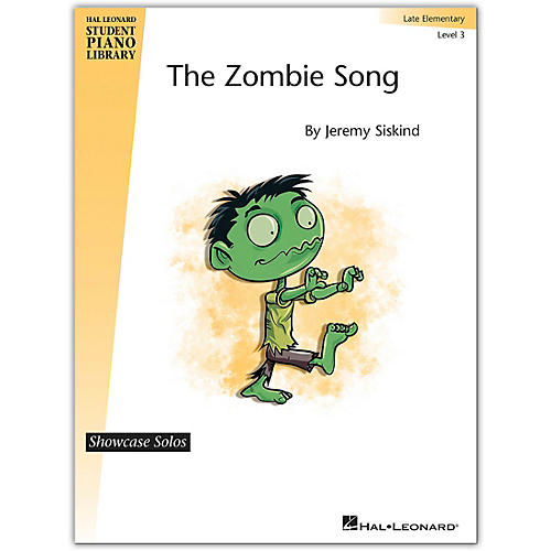 Hal Leonard The Zombie Song Hal Leonard Student Piano Library Showcase Solos-Late Elementary Level 3