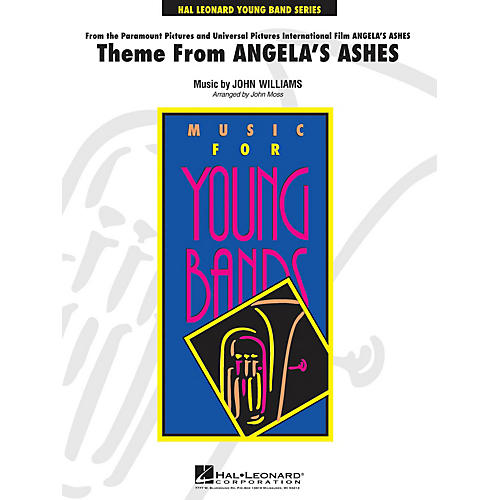 Hal Leonard Theme from Angela's Ashes - Young Concert Band Level 3 by John Moss