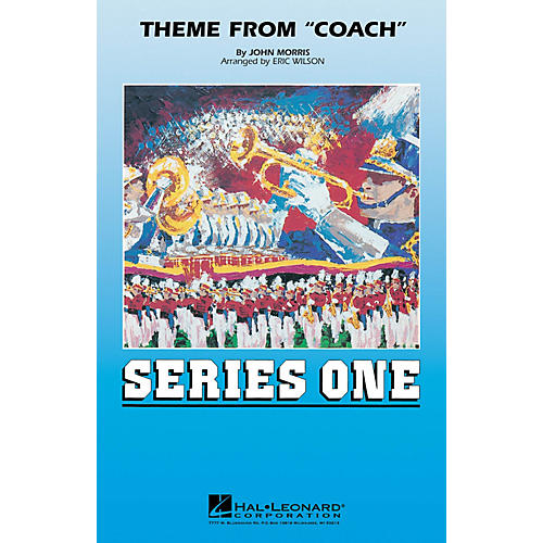 MCA Theme from Coach Marching Band Level 2 Arranged by Eric Wilson