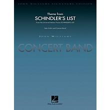 Hal Leonard Theme from Schindler's List (Deluxe Score) Concert Band Level 5 Arranged by John Moss