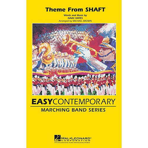 Hal Leonard Theme from Shaft Marching Band Level 3 Arranged by Michael Brown