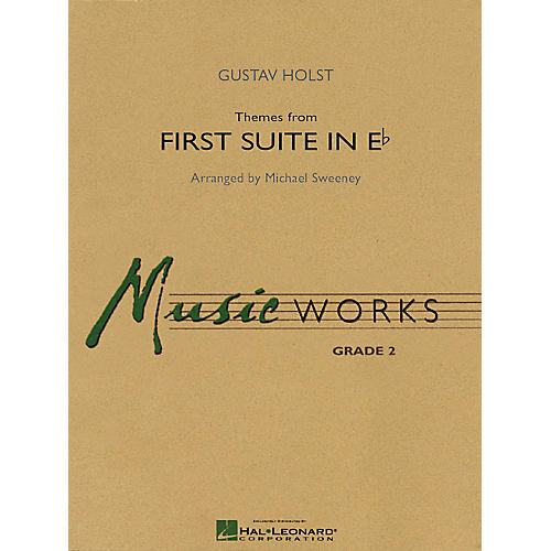 Hal Leonard Themes from First Suite in E-flat Concert Band Level 2 Arranged by Michael Sweeney