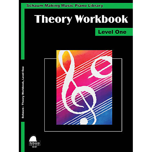 SCHAUM Theory Workbook - Level 1 Educational Piano Book by Wesley Schaum