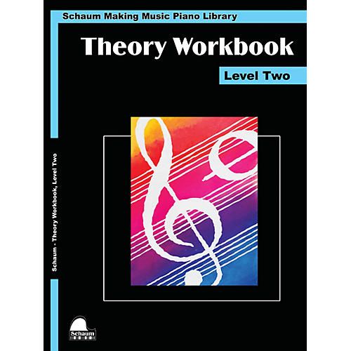 SCHAUM Theory Workbook - Level 2 Educational Piano Book by Wesley Schaum