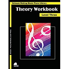 SCHAUM Theory Workbook - Level 3 Educational Piano Book by Wesley Schaum