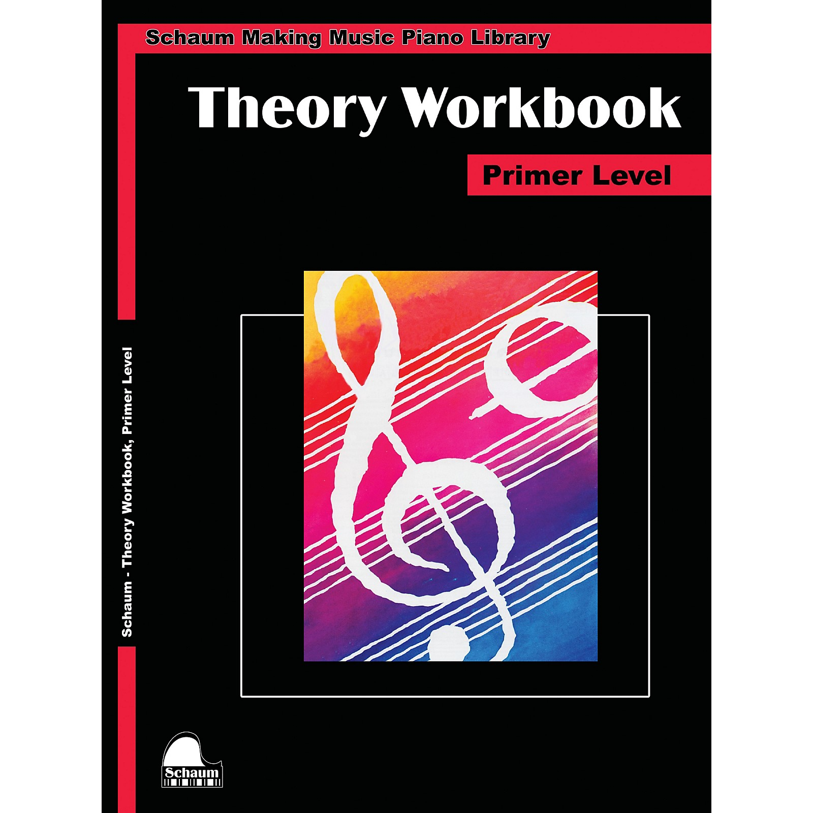 SCHAUM Theory Workbook - Primer Educational Piano Book by Wesley Schaum