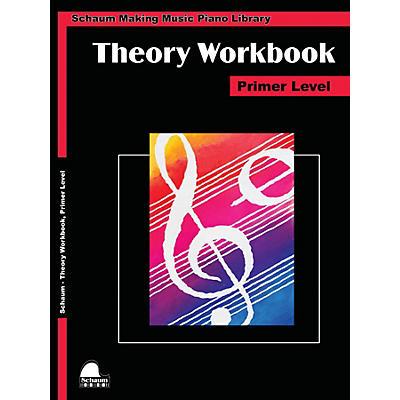 SCHAUM Theory Workbook - Primer Educational Piano Book by Wesley Schaum
