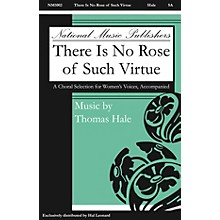National Music Publishers There Is No Rose of Such Virtue 2-Part composed by Hale Thomas