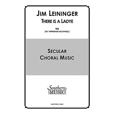 Hal Leonard There Is a Ladye (Choral Music/Octavo Secular Tbb) TBB Composed by Leininger, Jim