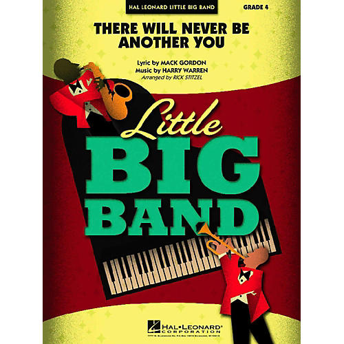 Hal Leonard There Will Never Be Another You Jazz Band Level 4