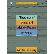 Music Sales Thesaurus of Scales and Melodic Patterns for Guitar Music Sales America Series Softcover with CD