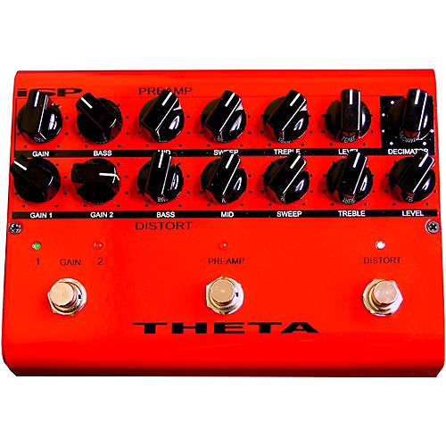 ISP Technologies Theta Floor Pre Amp Pedal for Guitar