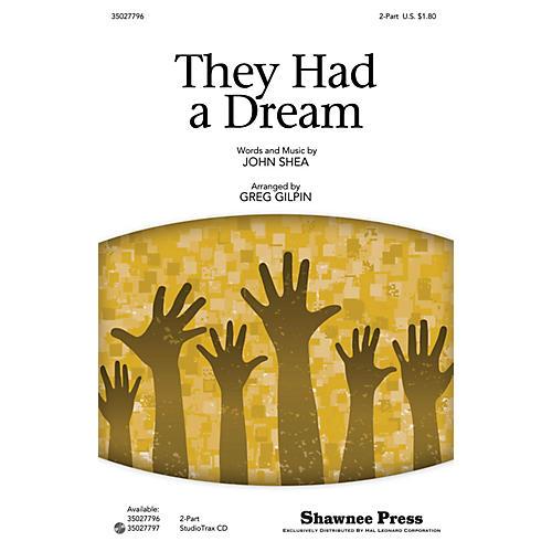 Shawnee Press They Had a Dream Studiotrax CD Arranged by Greg Gilpin