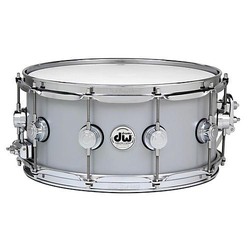 DW Thin Aluminum Snare Drum 14 x 6.5 in. Chrome Hardware