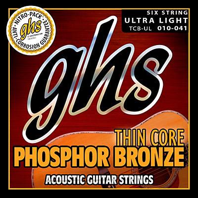 GHS Thin Core Phosphor Bronze Acoustics