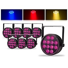 Proline ThinTri64 3W LED Stage Light 8 Pack