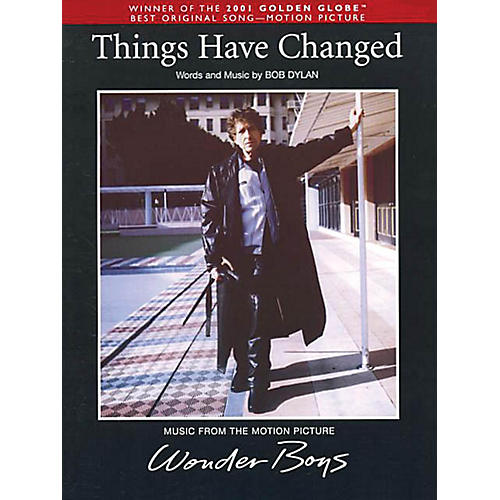 Music Sales Things Have Changed Music Sales America Series Performed by Bob Dylan