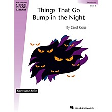 Hal Leonard Things That Go Bump in the Night Piano Library Series by Carol Klose (Level Elem)