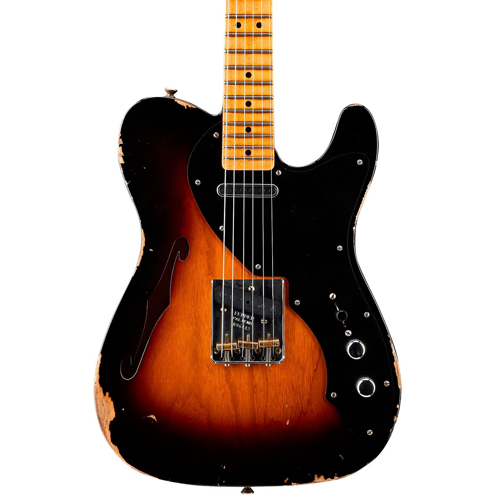 Fender Custom Shop Thinline Loaded Relic Nocaster Electric Guitar