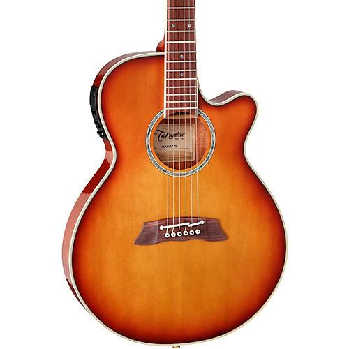 Takamine Thinline TSP138C Acoustic-Electric Guitar 3-Tone Tea Burst
