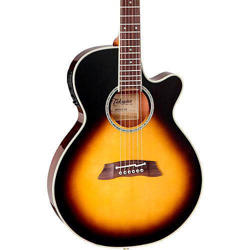 Takamine Thinline TSP138C Acoustic-Electric Guitar Tobacco Burst