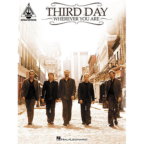 Hal Leonard Third Day Wherever You Are Guitar Tab Songbook