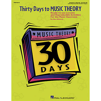 Hal Leonard Thirty Days to Music Theory (Classroom Resource)