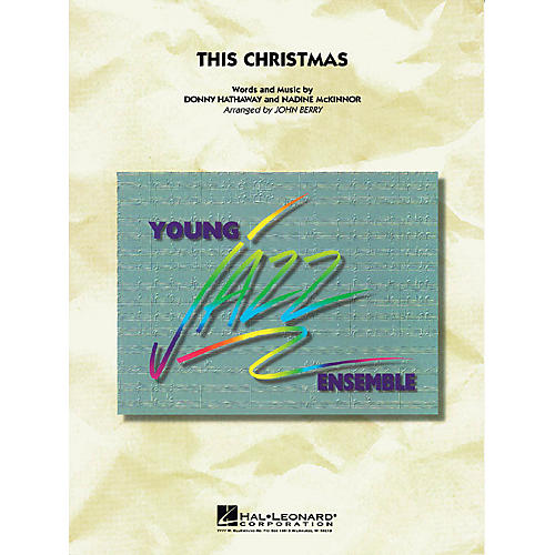 Hal Leonard This Christmas Jazz Band Level 3 Arranged by John Berry