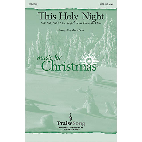 Hal Leonard This Holy Night SATB arranged by Marty Parks